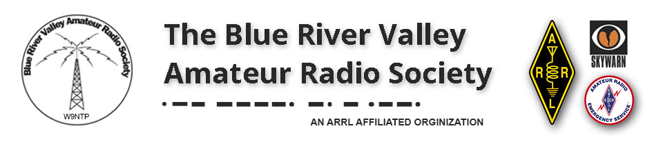 The Blue River Valley Amateur Radio Society